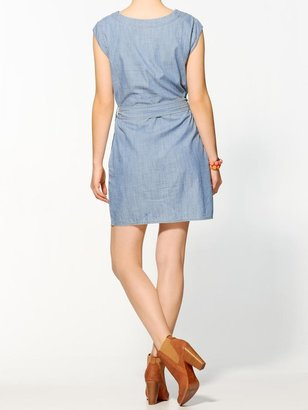 Juicy Couture Hive & Honey Sienna Chambray Mini Dress
