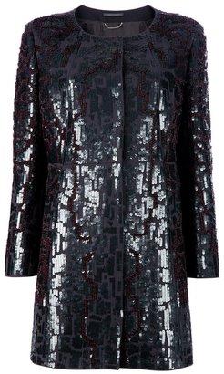 Alberta Ferretti Sequinned coat