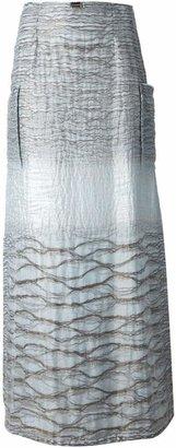 Jean Louis Scherrer Pre-Owned a-line maxi skirt