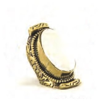 Natalie B Jewelry Tibet Ring in Shell