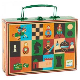 Djeco Chess and Checkers Set