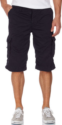 Superdry Military Twill Shorts, Dead Blue