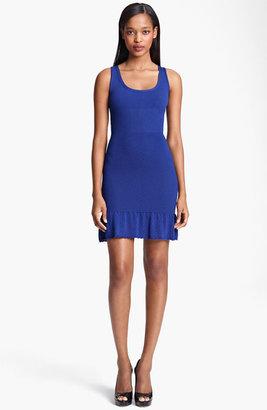Moschino Cheap & Chic Flared Hem Knit Dress