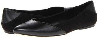 Calvin Klein Emelia (Black Suede/Nappa) - Footwear