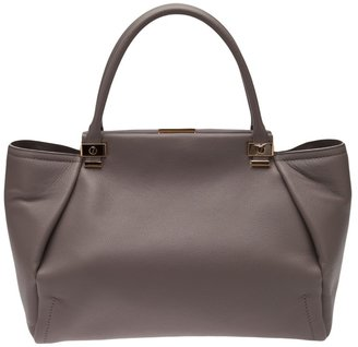 Lanvin large grained leather tote