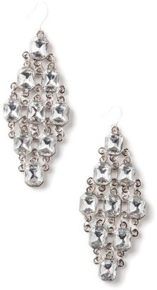 Lori's Shoes Radiant Crystal Diamond Shaped Earrings