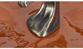 Crate & Barrel Staub ® 3.5-qt Enamel Cast Iron Pumpkin Cocotte