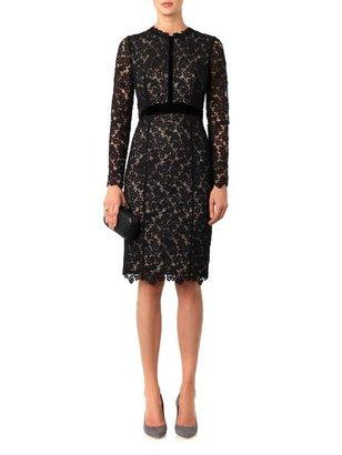 Erdem Cherise long-sleeved lace dress