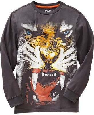 Old Navy Boys Wild Animal Graphic Tees