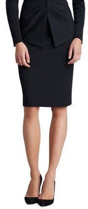 St. John Collection Milano Knit Pencil Skirt $395 thestylecure.com