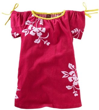 Tea Collection Floral Print Corduroy Dress (Little Girls & Big Girls)