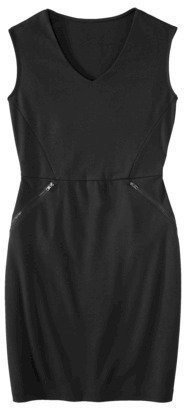 Mossimo Women's Ponte Sleeveless Dress w/ Zippered Pockets - Assorted Colors