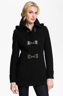 Calvin Klein Hooded Toggle Coat