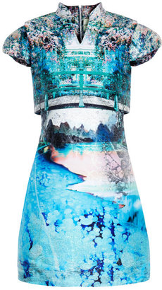 Mary Katrantzou Preorder Caspian Jacquard Valee Dress