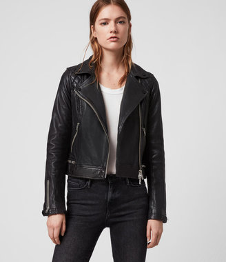 Conroy Leather Biker Jacket $670 thestylecure.com