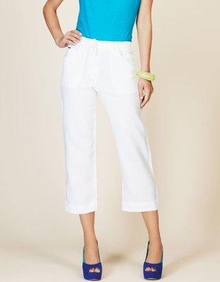 Figleaves Mat de Misaine Palin Linen Trouser