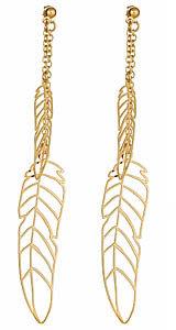 Kris Nations Pluma Double Feather Earrings