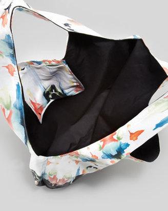 Cynthia Vincent Watercolor Border Shopper Bag (Stylist Pick!)