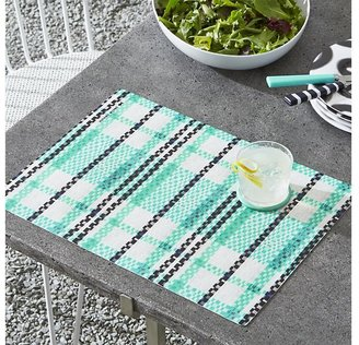 Crate & Barrel Pic-nic Plaid Placemat