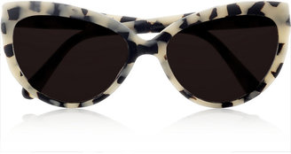 Cat Eye Prism Portofino matte-acetate sunglasses