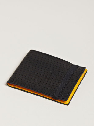Damir Doma Men's Small Bico Top Stitch Leather Wallet