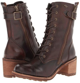 Rocket Dog England (Chocolate Burnout Leather) - Footwear