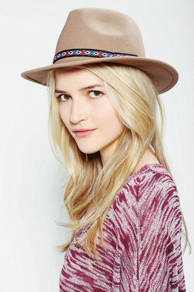 Urban Outfitters Banded Panama Hat