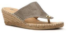 White Mountain Beachball Espadrille Wedge Sandal