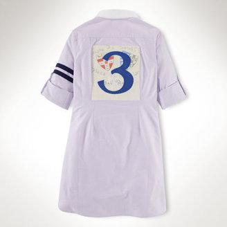 Ralph Lauren Athletic Oxford Shirtdress