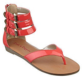 "Pink Pepper Pink & Pepper ""Ice"" Flat Sandal"