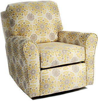 Cottage Glider Recliner in Choice of Fabrics