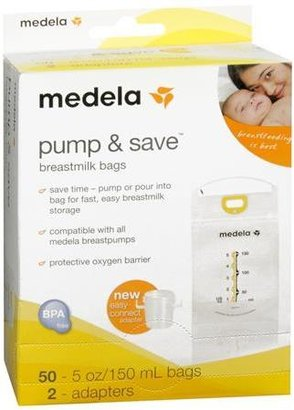 Medela Pump and Save Breastmilk Bags- 50ct