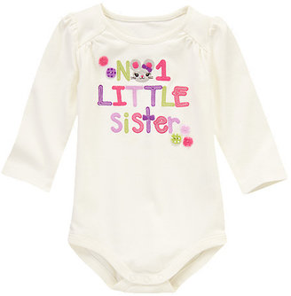 Gymboree No. 1 Little Sister Bodysuit/Tee