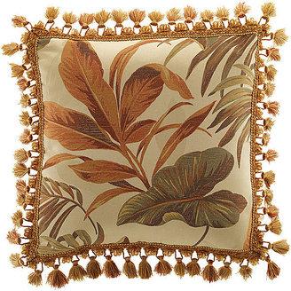 Croscill Classics Grand Isle Tassel Square Decorative Pillow