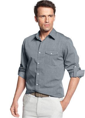 Geoffrey Beene Shirt, Long Sleeve Mercerized Cotton Classic Fit Shirt