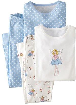 Mini Boden Snug Fitting Pajamas (2-Pack) (Toddler Girls, Little Girls & Big Girls)