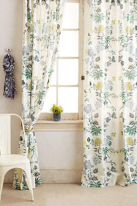 """Anthropologie Kalei Curtain By in Blue Size 50"""" X 96"""""""