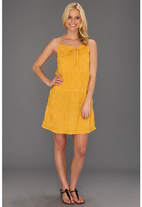 Lucky Brand Irving & Fine Tiered Embroidered Dress