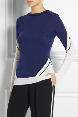 ADAM by Adam Lippes Intarsia merino wool sweater