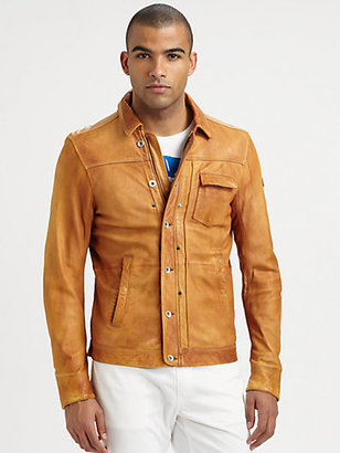Diesel Laurence Leather Jacket