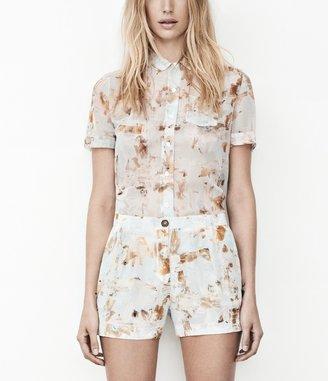 AllSaints Fleur Check Shirt