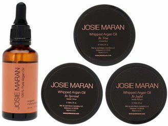 Josie Maran Pure Argan Oil and Whipped Body Butter 4 pc Collection