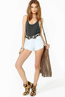 Nasty Gal Proud To Be Free Cutoff Shorts