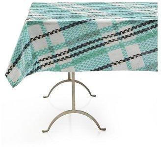 "Crate & Barrel Pic-nic Plaid Outdoor 58""x58"" Tablecloth"