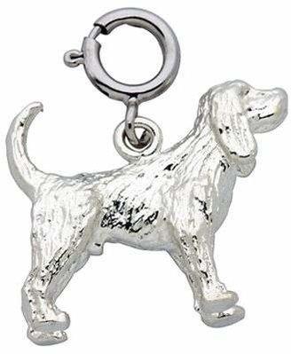 Dazzlers Sterling Cocker Spaniel Dog Charm