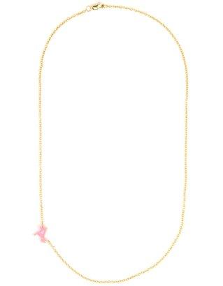 BaubleBar Acrylic Asymmetrical Initial Pendant
