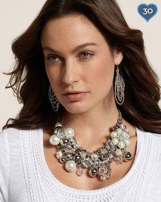 Chico's Pearla Bib Necklace