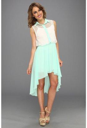 Gabriella Rocha Harper Hi-Low Dress (Mint) - Apparel