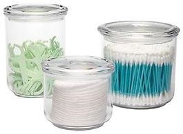 Container Store 28 oz. Acrylic Airtight Canister Clear