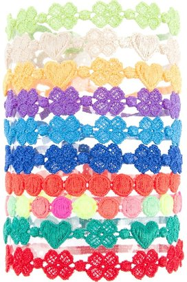 Cruciani shape bracelets